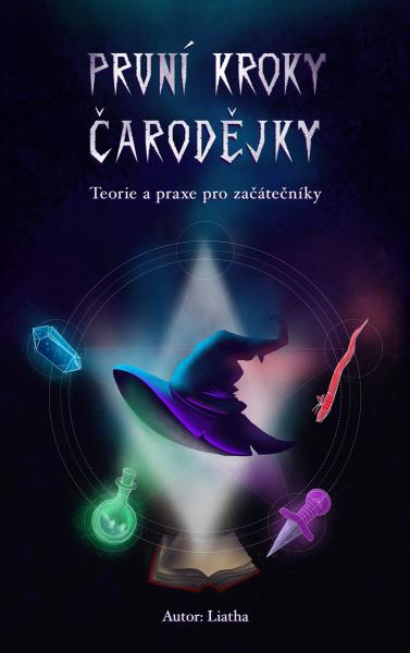 e-book První kroky čarodějky / obálka