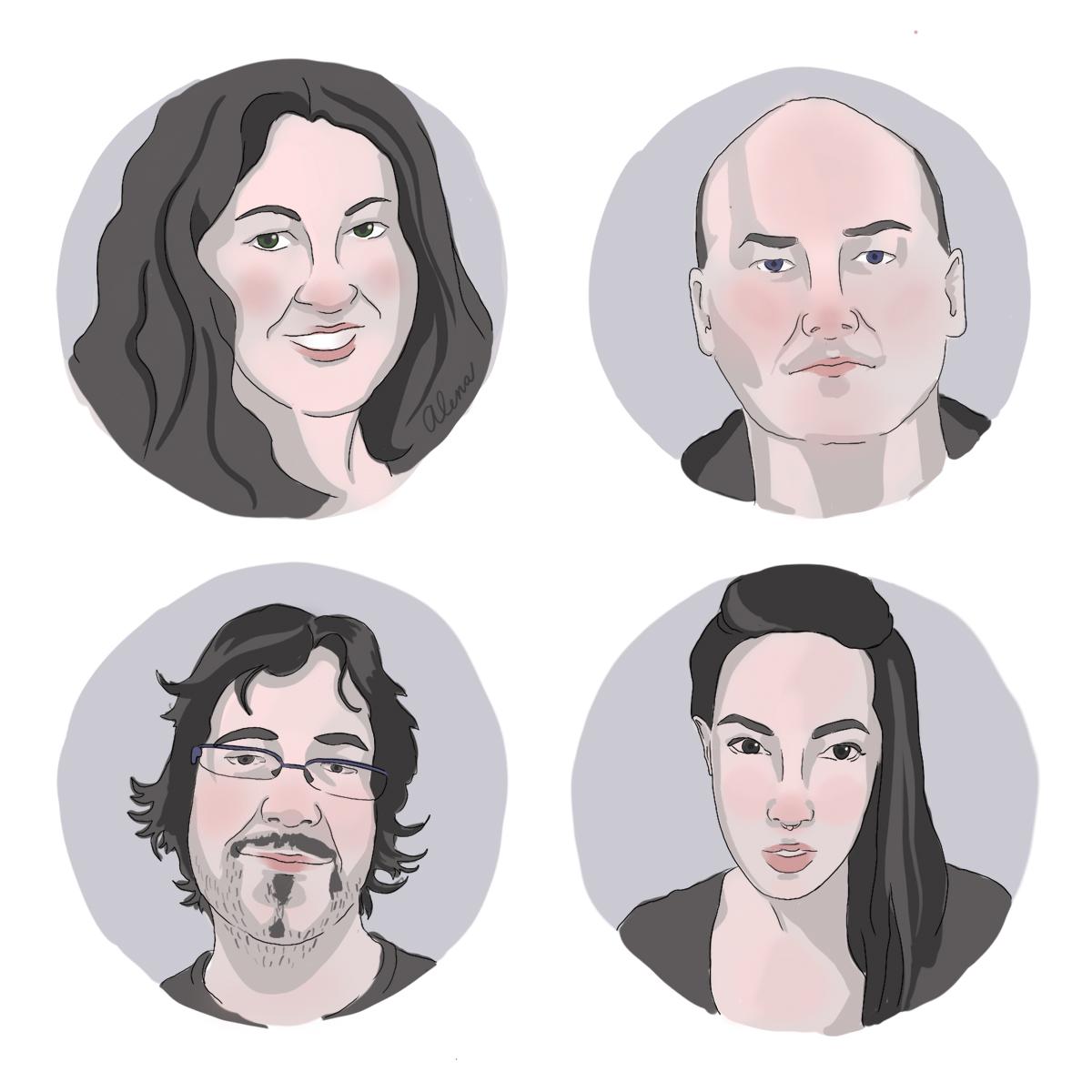 Portréty redaktorů