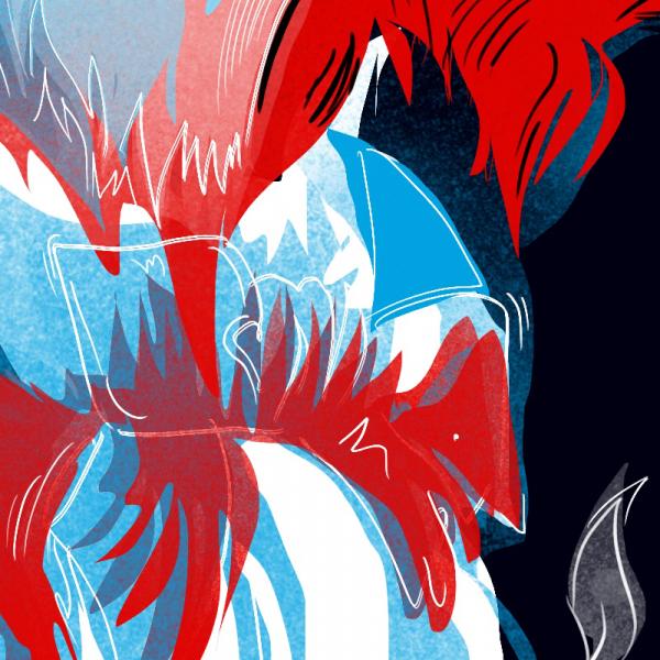 Detail, Transformace / digitální ilustrace, Procreate